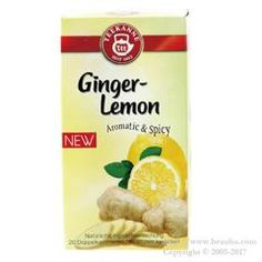 http://www.beauba.com/products/list.php?category_id=13233 Pompa Dour Ginger & Lemon 1.75g X 20 Pack. #Health #HerbalTea  Spicy herb tea blend of lemon/ collis and more over 50% of ginger. Even tastier if you add honey. Country of origin: Germany.