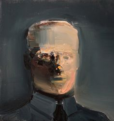 "Saatchi Art Artist: daniel maczynski; Oil 2014 Painting ""portrait"""