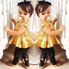 """Goldiva"" Shirt Dress + Leggings Twin Set"