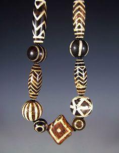 Pumtek Beads from Burma, rare.