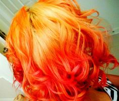 psychedelic curly red orange - photo #13