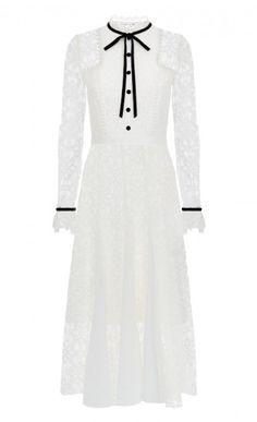Eclipse Lace Collar Dress