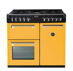 Belling 90cm Richmond Dual Fuel Range Cooker - First Bloom (yellow) (To Wet Kitchen - Bought)