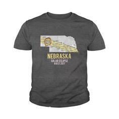 Nebraska Solar Totality Eclipse August 21 2017 USA Shirt.