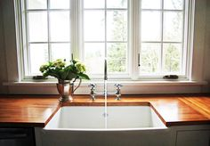 Install an under counter filter. It is plumbed into the cold supply line under the sink so now every time you get a glass of water, fill up the tea pot or steam rice...the water is filtered.