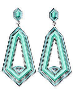 ZOOM | Malikah Earrings - Women - Style36  #RihannaStyle36 Playing Dress Up, Rihanna, Women's Earrings, Turquoise Necklace, Style Inspiration, Womens Fashion, Fashion Design, Jewelry, Jewlery