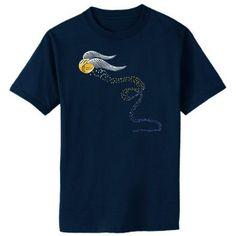 Amazon.com: Golden Snitch Harry Potter Quidditch Fan Art Adult T-Shirt: Clothing
