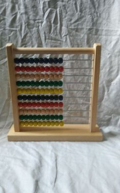 Melissa & Doug Classic Toy Wooden Abacus Counter Helps with Math Skills  #MelissaandDoug #Abacus #WoodenAbacus