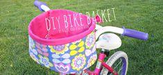 fat quarter diy bike basket~scrap week