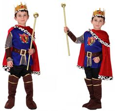 >> Click to Buy << Hot Sale Boys Carnival Cosplay Pageant The King Costume for Children Fantasia Costumes Children's Day Kids Boys Prince Clothes #Affiliate