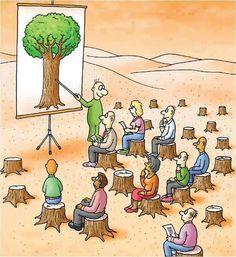 ⚜ Humor inteligente / Homo stupidus... Ecología.
