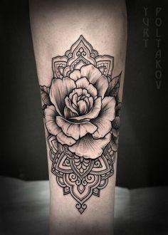 Tattoo Ornement poignet.