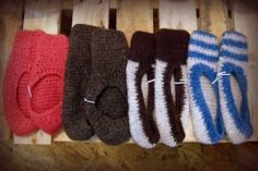 Take the chill off your morning and slip into these 100% wool felted slippers from Rainy Day Knit and Crochet! $27 for the pair