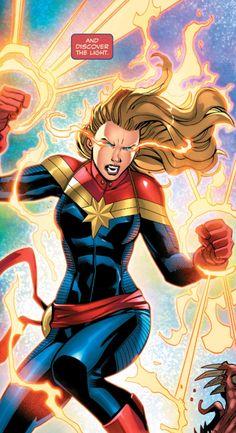 Captain Marvel in Absoliute Carnage: Captain Marvel #1 (2019) - Andrea Broccardo
