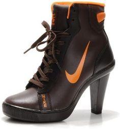 Nike Heels High Brown Orange Sale Buy Nike Shoes 924553683