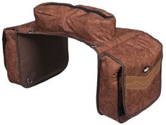 Western Trail Saddlebags Insulated Multi Pocket-Endless Storage-Black or Brown