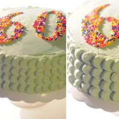 60th birthday cake---- this one looks easy @Ari Simon