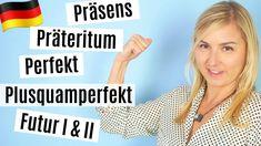 Perfektes Deutsch lernen│Grammatik: Alle Zeiten einfach erklärt! A2-B2