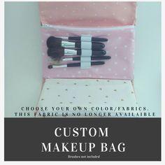 Makeup Bag Organizer | Costmetic Bag | Makeup Case | Zipper Pouch | CUSTOM