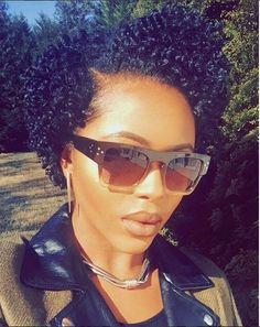 Beautiful Short Healthy Natural Curls IG:/poshdollaz/ #naturalhairmag
