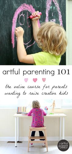 Enrolling now for a limited time only! Artful Parenting 101 is a 10-week online course for parents of children ages 1-8 who want to lay a strong creative foundation for their families.