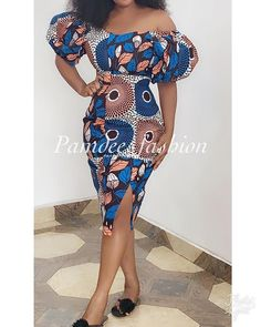 Try out this amazing beautiful Ankara dress we have for you ,This specially Ankara dress we selected for you will make you look Fabulous and stand out in any Occasion or Event ,you Lady of styles attend. African Fashion Ankara, Latest African Fashion Dresses, African Inspired Fashion, African Print Fashion, Africa Fashion, African Style, African Beauty, Short African Dresses, Ankara Long Gown Styles