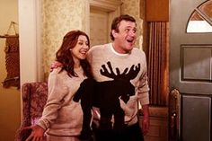 When Marshall and Lily wear matching Halloween costumes and/or sweaters. Forget a relationship like Romeo and Juliet, I want one like Marshmallow and Lilypad. How I Met Your Mother, Dating Your Best Friend, Best Friends, Matching Halloween Costumes, Halloween Ideas, Cute Christmas Sweater, Merry Christmas, Christmas Moose, Healthy Relationships