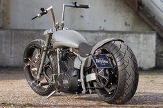 #Thunderbike Nickel Rocker - full customized #Harley Davidson Softail Rocker