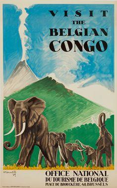 Belgian Congo Elephants