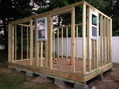 How to Build a Shed from Scratch #deckbuildingstoragesheds