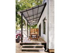House Front Porch Design Ideas – Outdoor And Patio Ideas, Designs and DIY Plans. Porch Roof Styles, Porch Roof Design, Patio Roof, Patio Design, Garden Design, Backyard Patio, Veranda Design, Building A Porch, Shade Structure