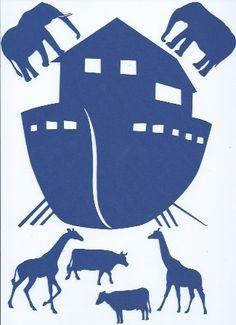 noah's ark silhouette