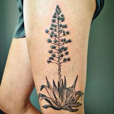 Which makes it the perfect tattoo subject. | 21 Beautiful Plant Tattoos For Anyone Who Doesn't Like Flowers