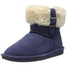 Classic boots dressed up with stylish details, novelty treatments in rich colors with specialty hardware. Styles feature an assortment of trims, embossed textured and printed suedes, buckles, military straps and an exciting variety of sheepskin accents. #boots #bearpaw #womens #winter #shoes #christmas #gifts #style $59.99 - $65.99 http://www.thinkfasttoys.com/BEARPAW-Womens-Abby-Snow-Boot/dp/B00GR2EAEW
