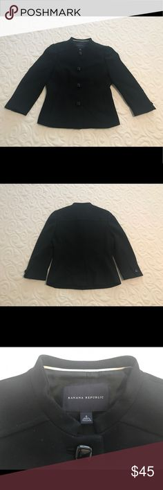 """Banana Republic """"Jackie O"""" Jacket This jacket is such a classic and looks so great on! Very flattering!! Banana Republic Jackets & Coats Blazers"""
