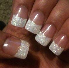 White sparkle French