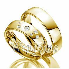 Alianças de casamento exlusivas