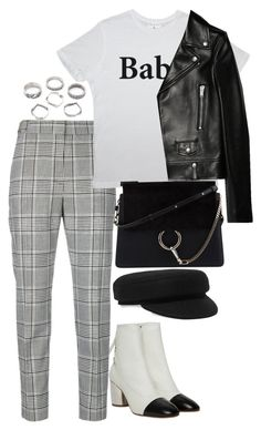 """""""Untitled #4596"""" by theeuropeancloset on Polyvore featuring Proenza Schouler, Alexander Wang, Yves Saint Laurent, Chloé and Isabel Marant"""