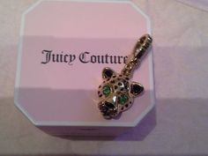 JUICY COUTURE LEOPARD CAT CHEETAH CHARM YJROC54 for bracelet satchel hobo bag http://www.bonanza.com/booths/FRAN24112