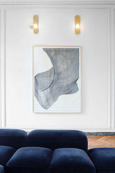Science Art, Science Space, St Honoré, Rue, Parisian, Design Inspiration, House Design, Painting, Homes