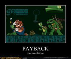 Go, go, Teenage Mutant Ninja Turtles!!!