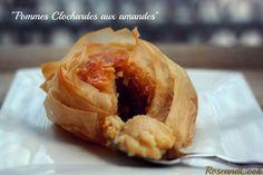 Pommes clochardes emmitouflées, aux amandes - Rose & Cook