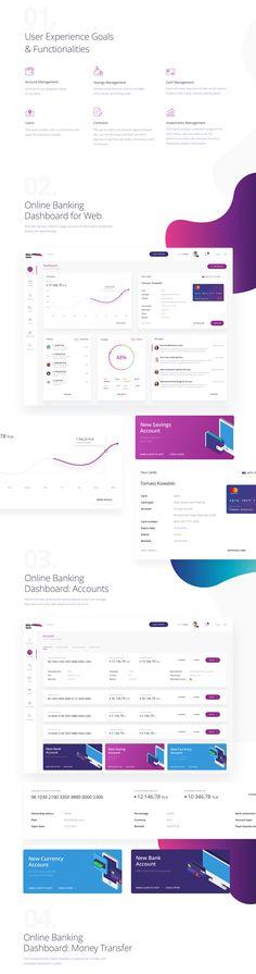MYBANK Online Banking App on Behance