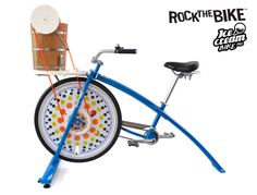Rock The Bikes new Ice Cream Bike Pro is the best way to churn up your ice cream using your leg energy to pedal up and make ice cream! Diy Ice Cream, Ice Cream Maker, Company Picnic, Lead Time, Tech, Group, Snow, Ice Cream Making Machine, Technology