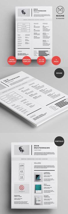 Creative Modern #Resume #Design