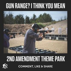 LAX Firing Range is a haven for any gun owner. Visit our shooting range Los Angeles. Pro Gun, Gun Quotes, Gun Humor, Military Memes, Army Memes, Gun Rights, Shooting Range, 2nd Amendment, Conservative Politics