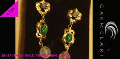 i balocchi firenze, collezione collana bracciali e orecchini pezzi unici fatti a mano da artigiani orafi, in argento placcato oro e pietre naturali