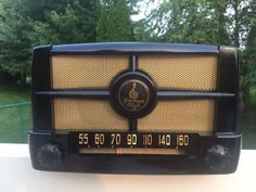 Vintage Emerson Tube Radio Model 50B 1 Restored and Working | eBay