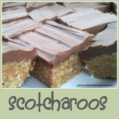 These are a crowd pleaser.   One of my very favorites and the best part...they are quick and easy.     My husband grew up with Scotcharo...