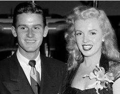 Roddy MacDowall and Marilyn Monroe